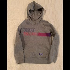 Girls Under Armour Hoodie Sz Youth Small